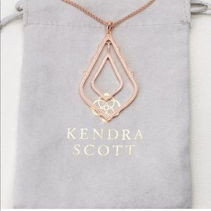 Kendra Scott Rose Gold Simon Necklace